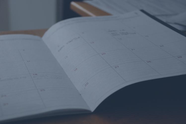 Hur kan du fylla jobbkalendern på bästa sätt?